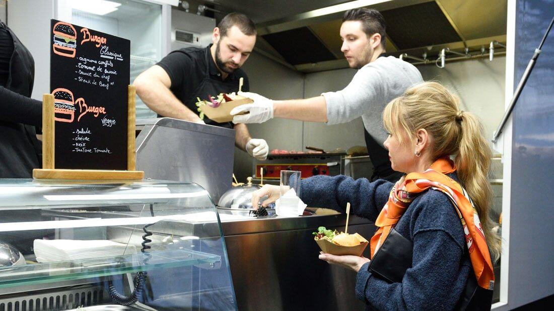 Ateliers culinaires À Table - Food truck de burger
